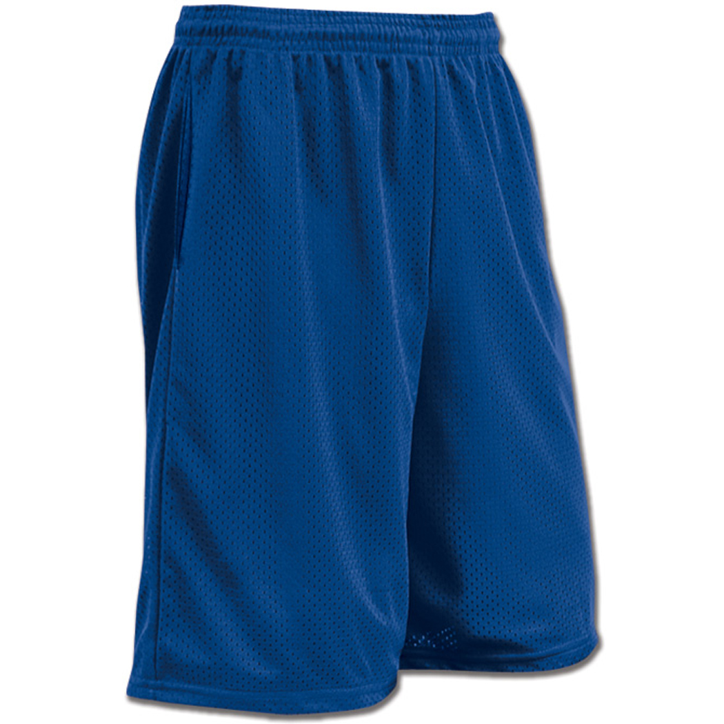 Champro Diesel Tricot Lacrosse / Football / Basketball Shorts w/Pocket (Royal)