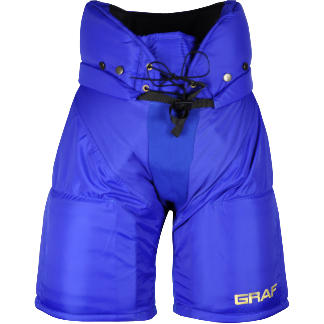 Graf 500 Senior Ice Hockey Pants (Royal)