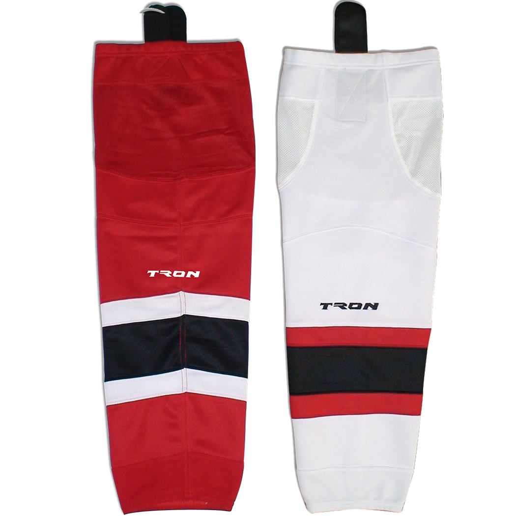 New Jersey Devils Hockey Socks - Tron SK300 NHL Team Dry Fit