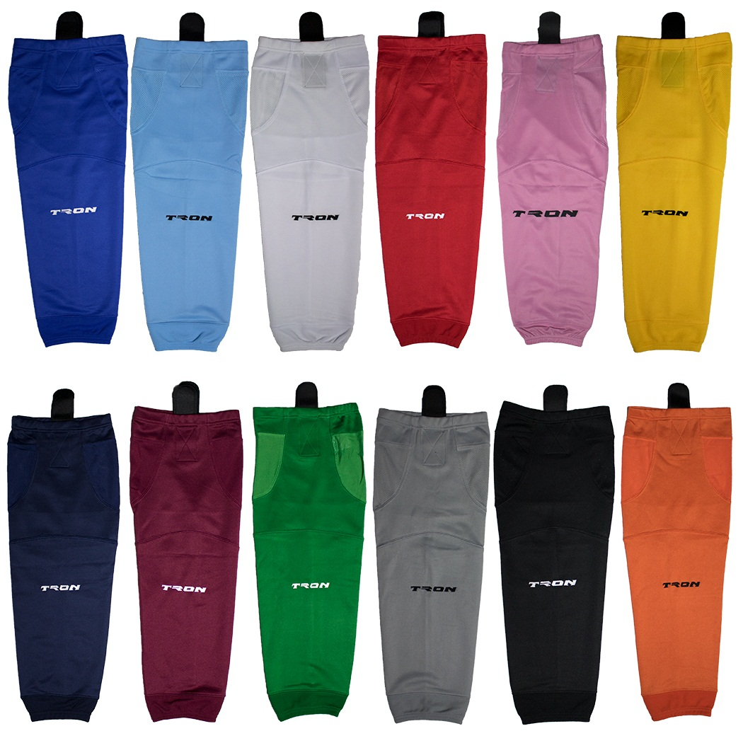 TronX SK100 Dry Fit Solid Color Hockey Socks