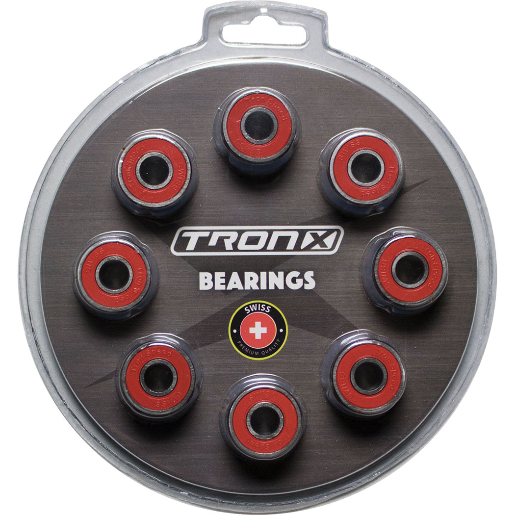 TronX 16-Pack Inline Hockey Speed Bearings (Swiss Lite)