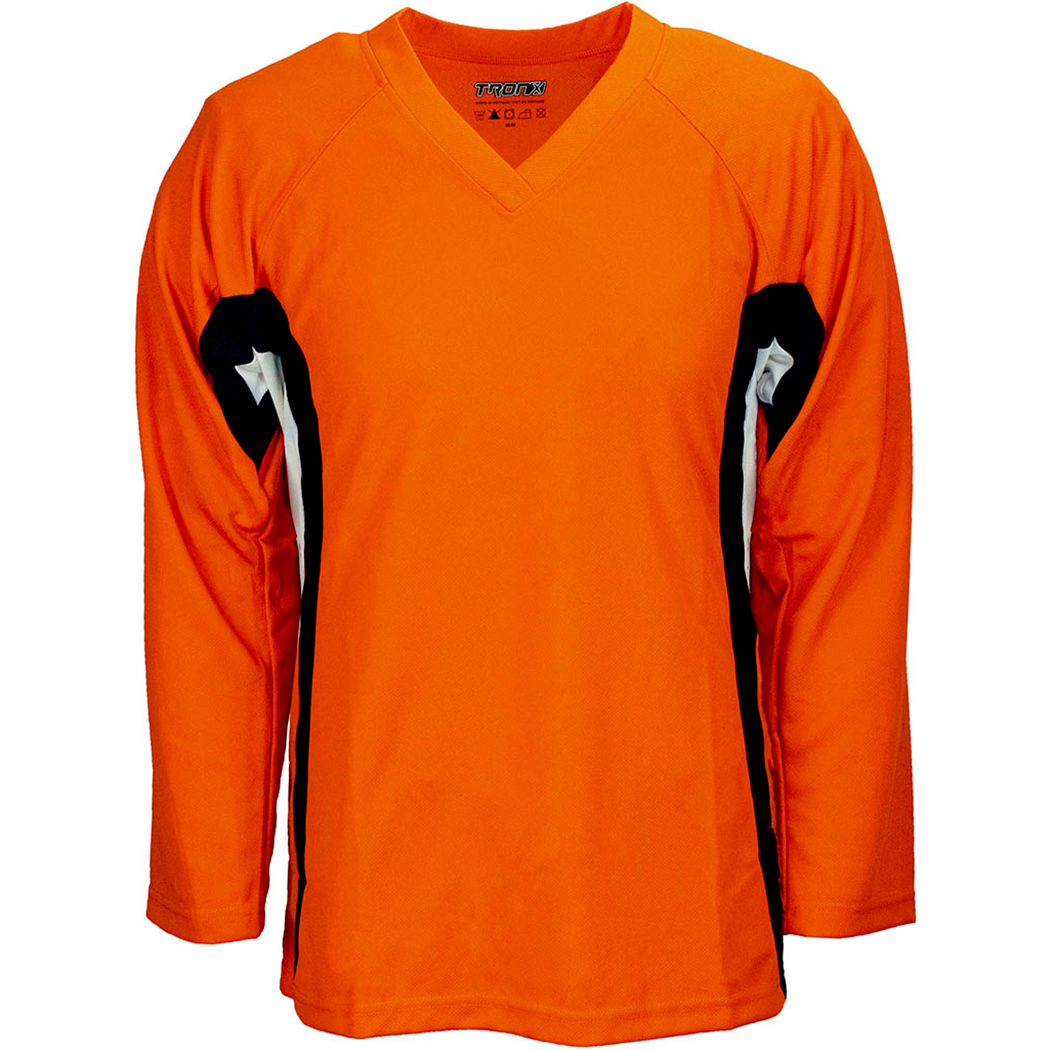 TronX DJ200 Team Hockey Jersey - Orange