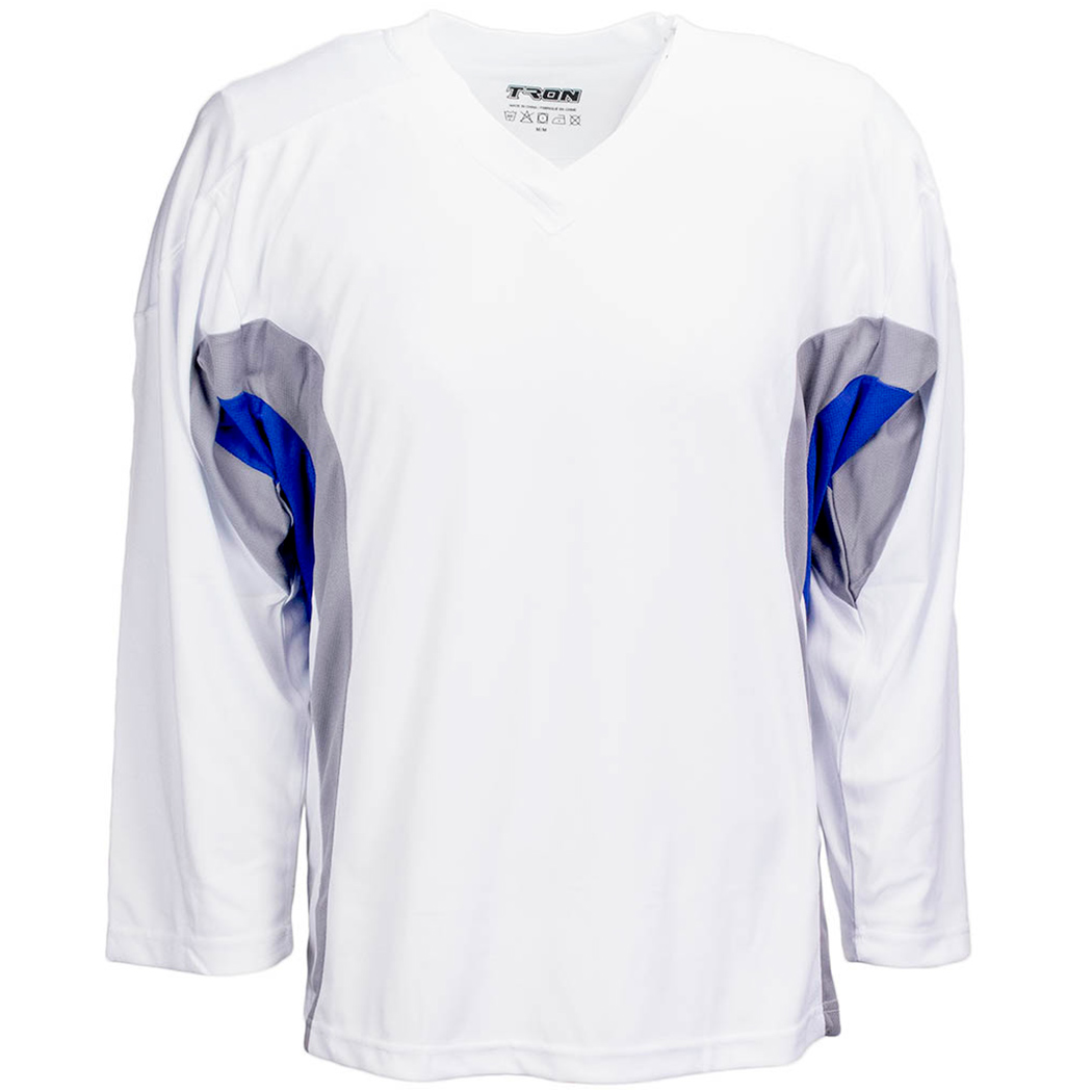TronX DJ200 Team Hockey Jersey - White/Royal